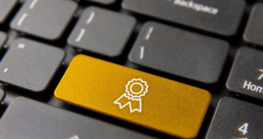 award keypad