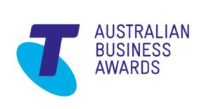 Telstra Business awards logo